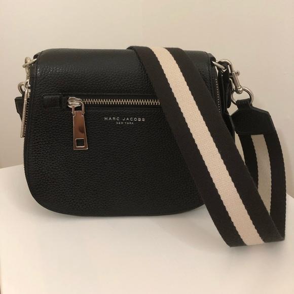 Marc Jacobs Handbags - Marc Jacobs Recruit Small Leather Saddle Crossbody